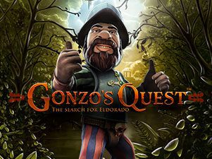 Gonzo's quest Tragaperras