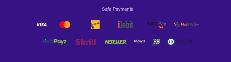 Métodos de pago de High 5 Casino online Perú
